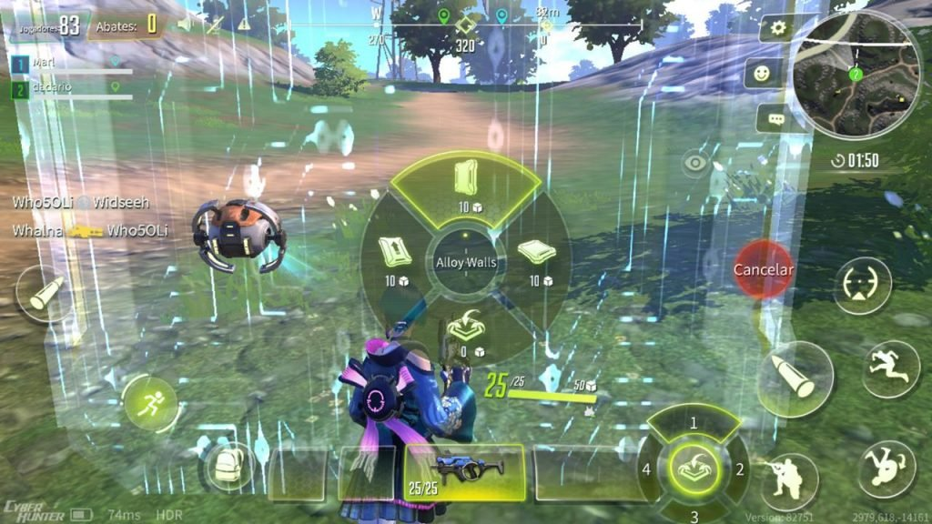 cyber-hunter-fortnite-stile-game-android-iphone-17-1024x576 Os 10 Melhores Jogos de Battle Royale para Android e iOS