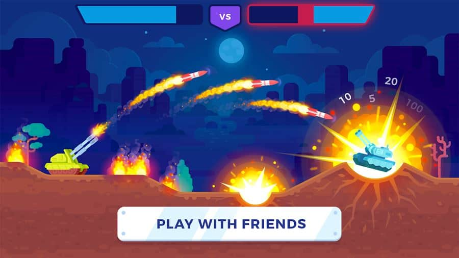 tank-stars-android 25 Jogos Offline para Android 2018 - parte 8
