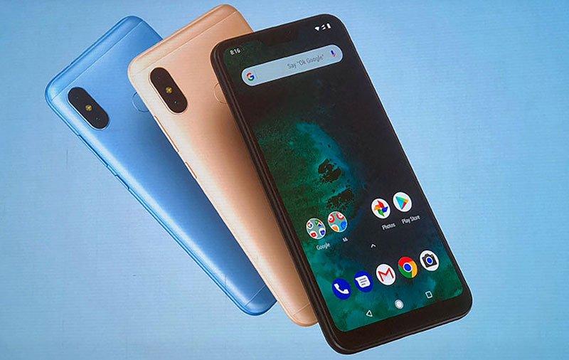 xiaomi-Mi-A2-Lite-android-puro Pocophone F1 com menor preço: Celulares Xiaomi em Promoção