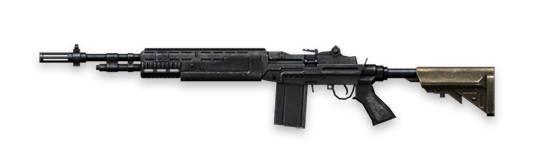 M14-free-fire Fire Fire Armas: Os Melhores Rifles de Assalto (assault rifles - AR)
