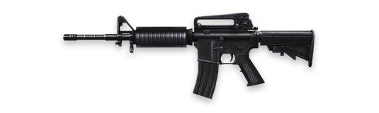 M4A1-free-fire Fire Fire Armas: Os Melhores Rifles de Assalto (assault rifles - AR)