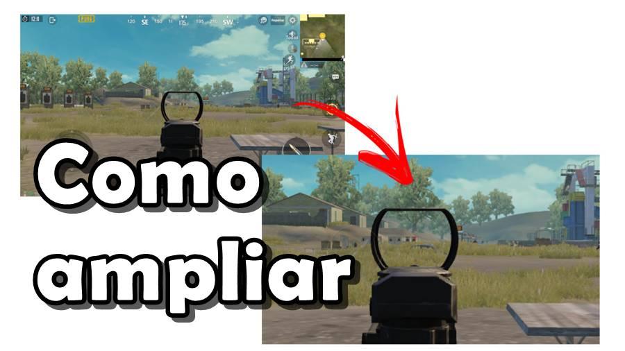 Como dar ZOOM na Tela e Atirar Melhor com Sniper (PUBG Mobile, Free Fire e etc)