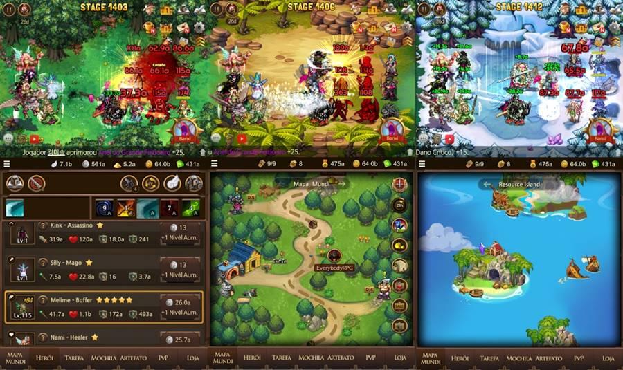everybody-rpg-android 12 Jogos PAGOS que estão DE GRAÇA (promoção)