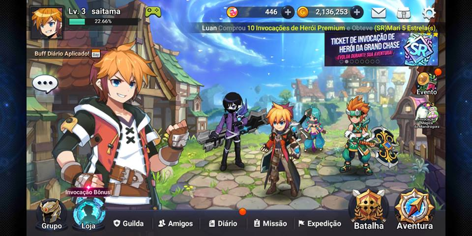 grandchase-android Os Melhores Jogos para Celular de 2018