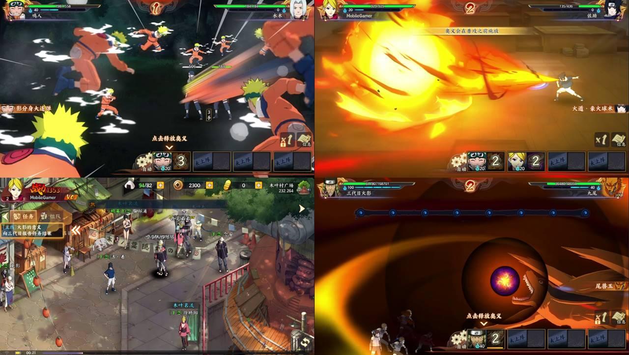 Naruto Online: Novo jogo do Ninja para Android (APK