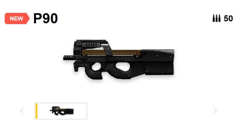 p90-free-fire P90: a nova arma do Free Fire está causando polêmica