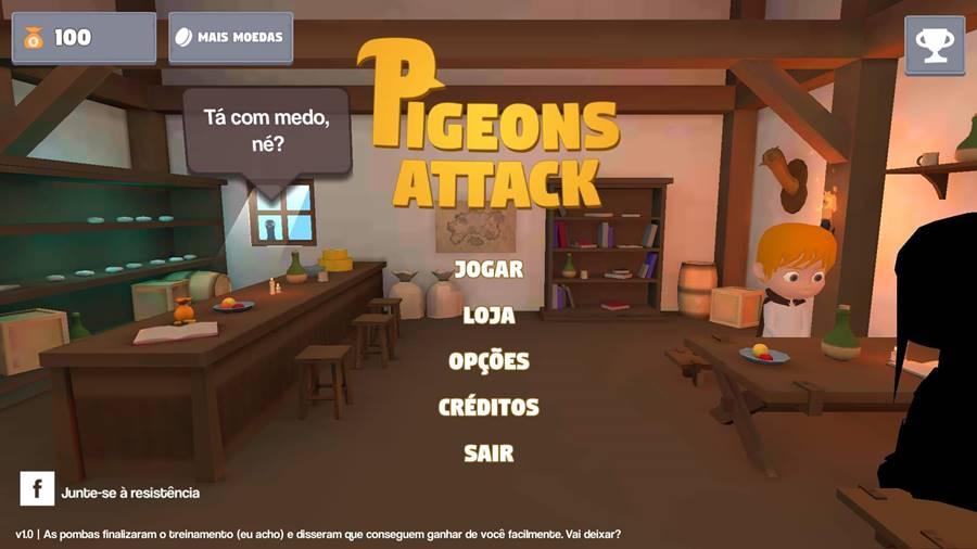 pigeons-attack-android Pigeons Attack: as pombas dominaram o mundo neste jogo offline