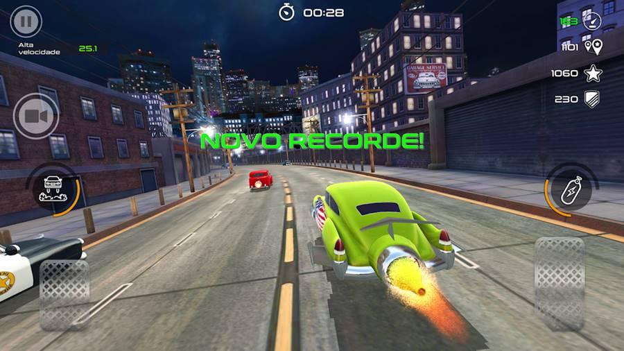 rocket-cars 10 Melhores Jogos de Corrida para Android e iPhone de 2018