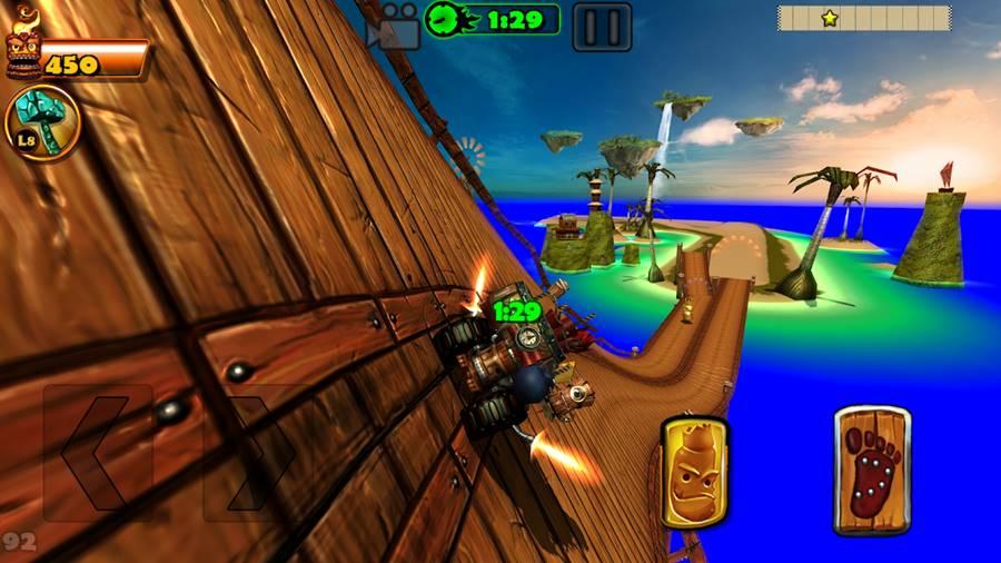 tiki-kart-island 10 Melhores Jogos de Corrida para Android e iPhone de 2018