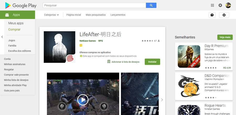 "LifeAfter-the-day-after-tomorrow-google-play The Day After Tomorrow chega na Google Play como ""LifeAfter"""