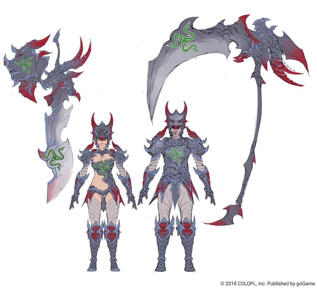 Razer-Concept-Art Dragon Project: RPG de Ação adiciona Novos Recursos em Recente Atualização