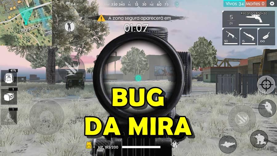 bug-da-mira-free-fire Free Fire: Bug da Mira existe mesmo? É Hack? Entenda!