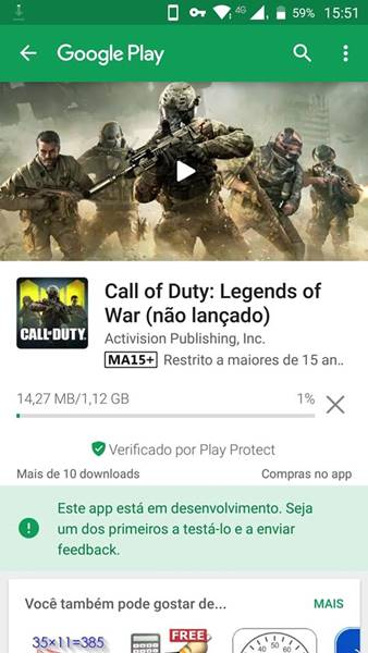 call-of-duty-mobile-google-play-android APK de Call of Duty Legends of War vaza na internet (Tencent)