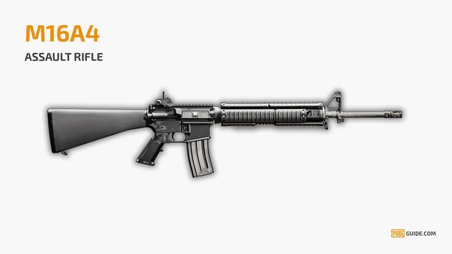 pubg-arma-m16 PUBG Mobile: Lista das Melhores Armas do jogo para Android e iOS