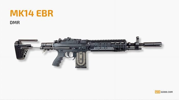 pubg-arma-mk14 PUBG Mobile: Lista das Melhores Armas do jogo para Android e iOS