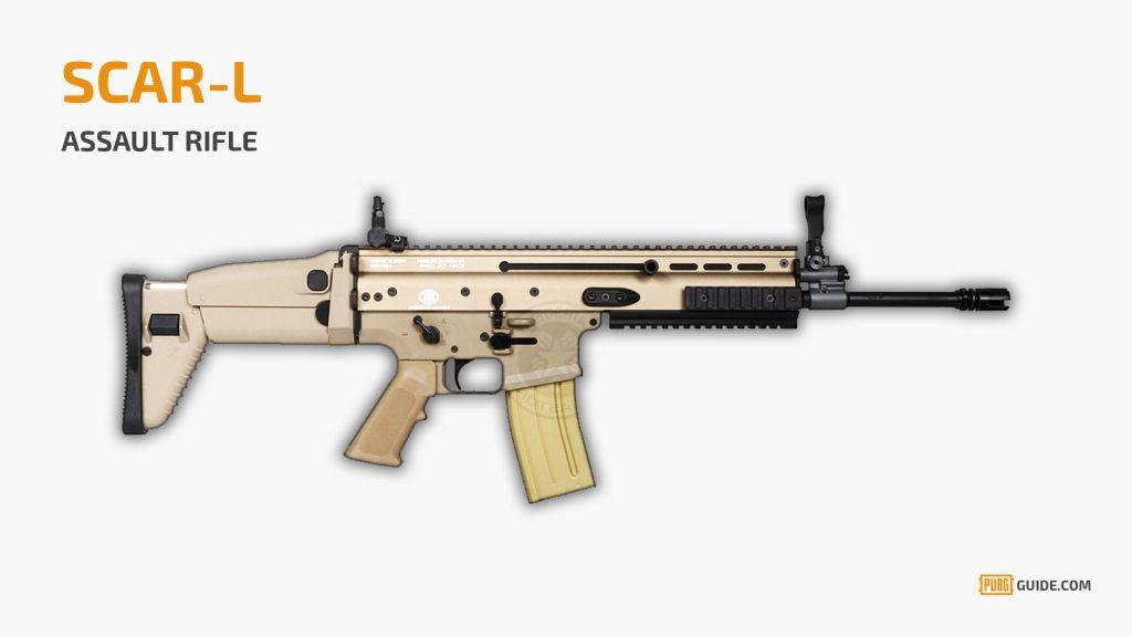 pubg-arma-scar-L-1024x576 PUBG Mobile: Lista das Melhores Armas do jogo para Android e iOS
