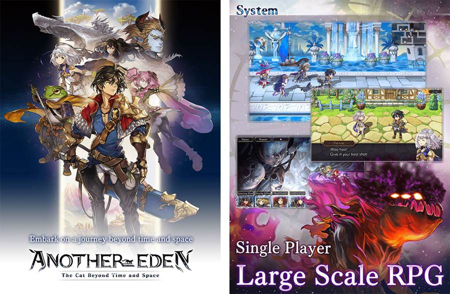 Another-Eden-SS01 Another Eden: RPG Grátis dos Criadores de Chrono Trigger (APK)