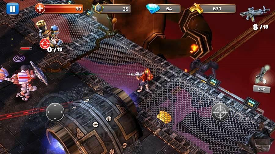 Clockwork-Damage 30 Melhores Jogos Android Offline 2019