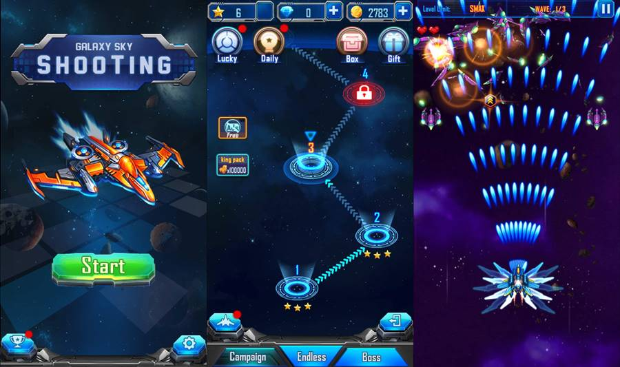 Galaxy-sky-shooting-android 30 Melhores Jogos Android Offline 2019