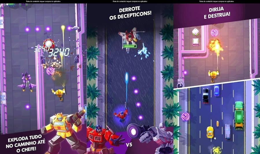 TransformersBumblebeeOverdrive 30 Melhores Jogos Android Offline 2019