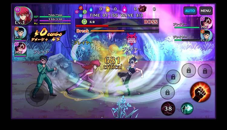 Yu-Yu-Hakusho-GENKAI-Battle-Spirits-android-apk-1 Yu Yu Hakusho GENKAI Battle Spirits: Novo Jogo do anime para Android e iOS
