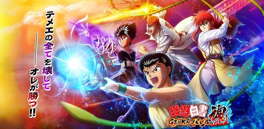 Yu-Yu-Hakusho-GENKAI-Battle-Spirits-android-apk Yu Yu Hakusho GENKAI Battle Spirits: Novo Jogo do anime para Android e iOS