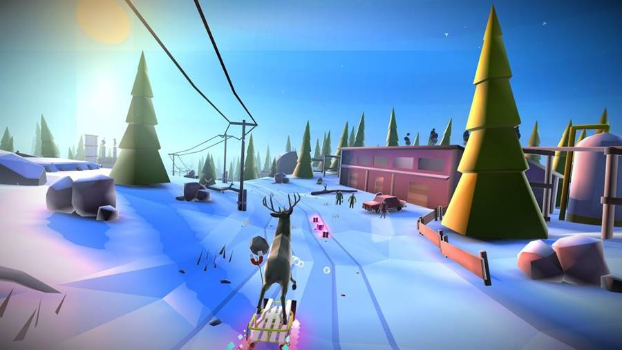 animal-adventure-downhill 30 Melhores Jogos Android Offline 2019