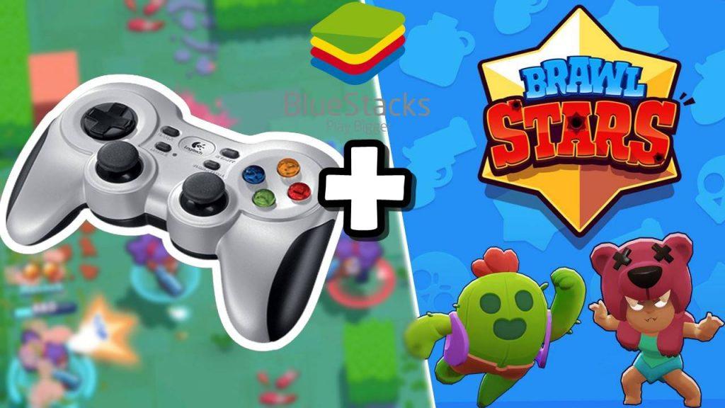 Como jogar Brawl Stars com CONTROLE no PC (BlueStacks 4)