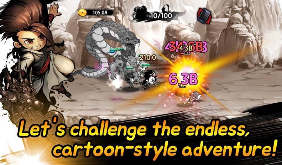 cartoon-dungeon-vip 16 Jogos PAGOS que estão DE GRAÇA no Android (promoção)