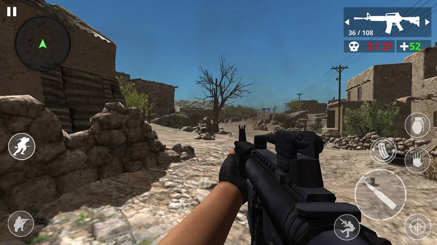 desert-war-jogo-android-offline 35 Melhores Jogos Android Offline 2020