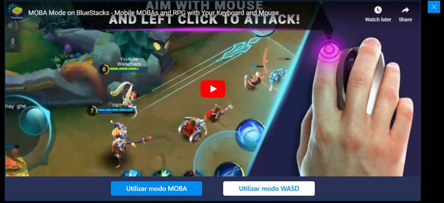 emulador-bluestacks-4-arena-of-valor-modos 10 Melhores Jogos para o Emulador BlueStacks 4
