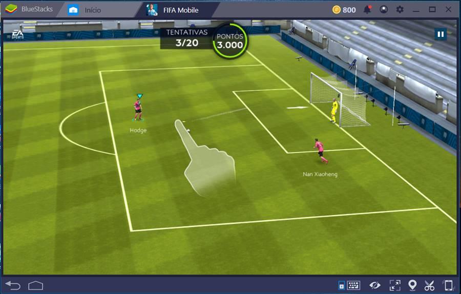emulador-bluestacks-4-fifa-mobile-soccer-futebol 10 Melhores Jogos para o Emulador BlueStacks 4