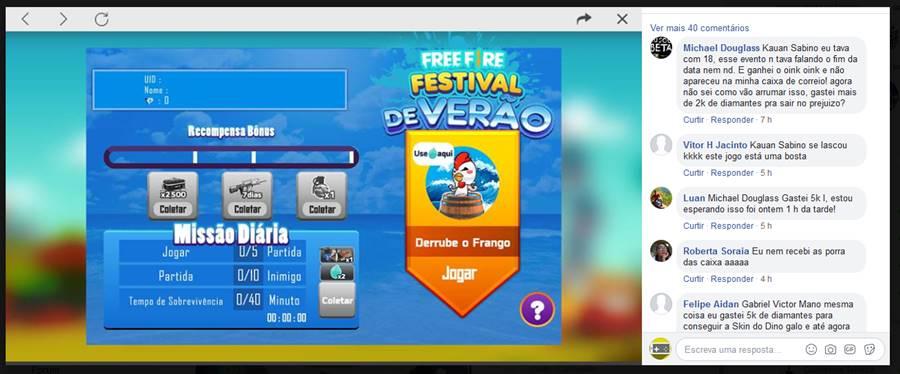 evento-acerte-frango-free-fire Ganância da Garena com Free Fire é tudo que há de ERRADO nos Jogos Mobile
