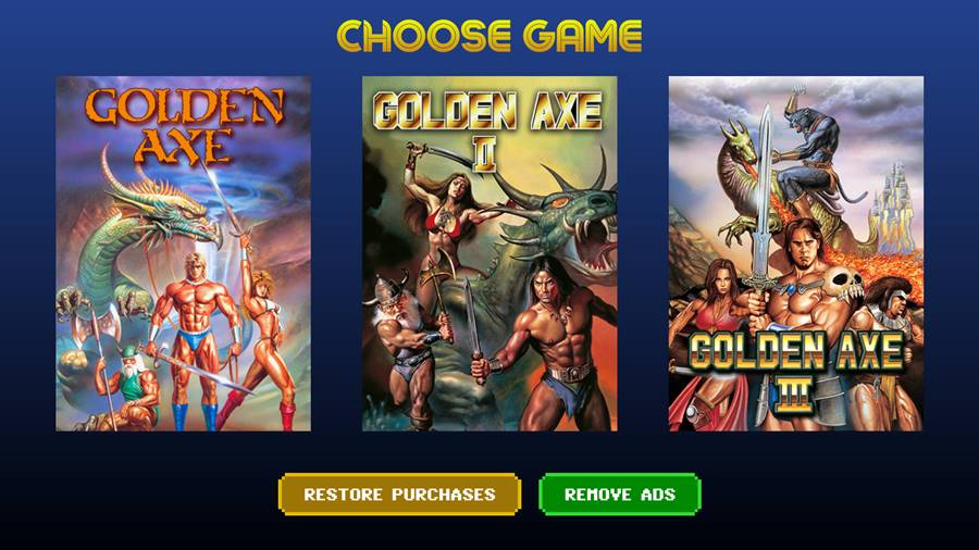golden-axe-classics-1-2-3 Golden Axe Classics adiciona mais dois jogos gratuitamente