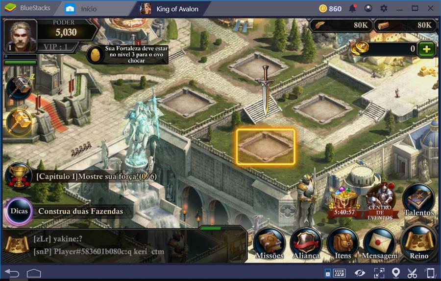 king-of-avalon-bluestacks 10 Melhores Jogos para o Emulador BlueStacks 4