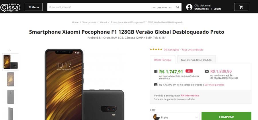 pocophone-f1-cissa-magazine Ainda Vale a Pena Importar Smartphone? Resposta Rápida: NÃO!
