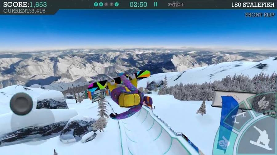 snowboard-party-aspen-android 30 Melhores Jogos Android Offline 2019