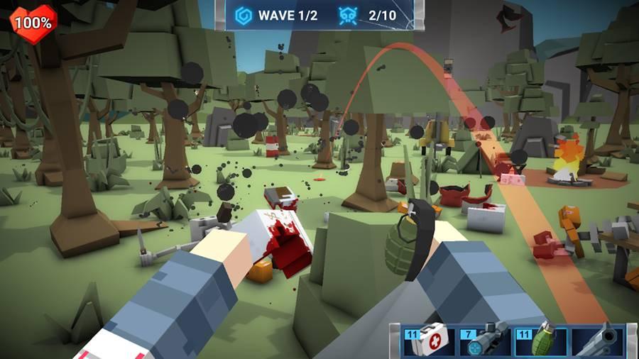 walking-zombie-city 30 Melhores Jogos Android Offline 2019