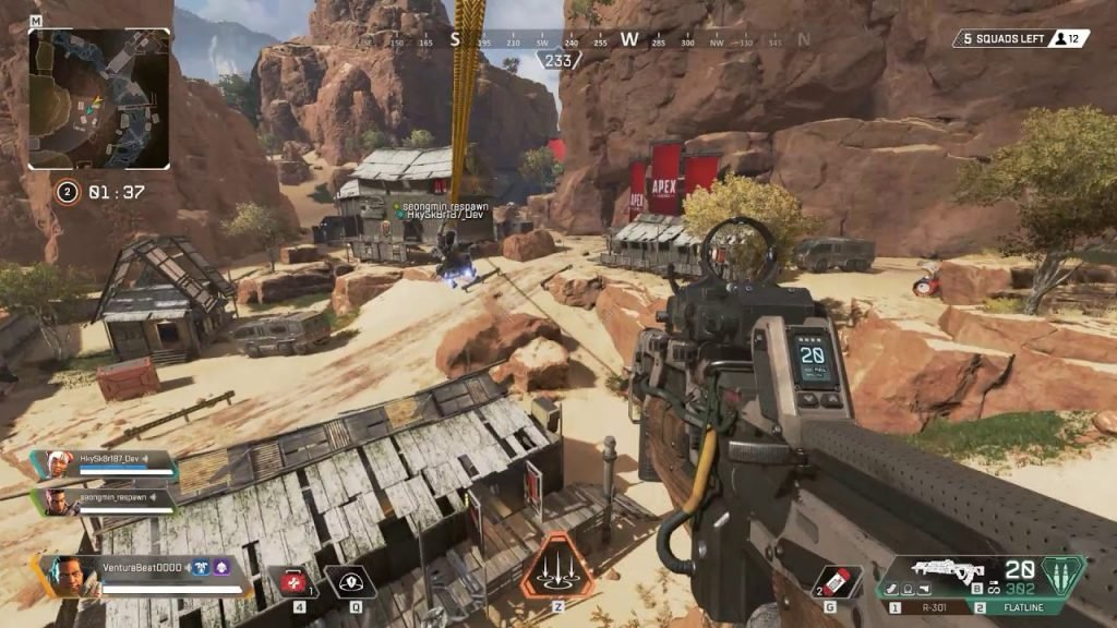 Apex Legends é o que Modern Combat Versus deveria ser