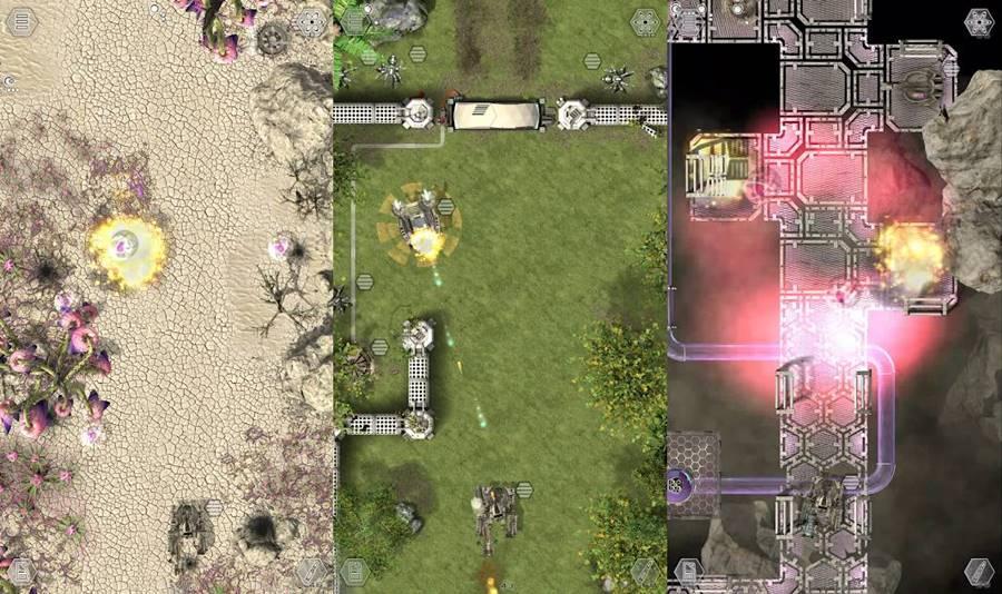 desesperate-defence-android-jogo-offline Desperate Defence é um jogo offline de tanques para Android