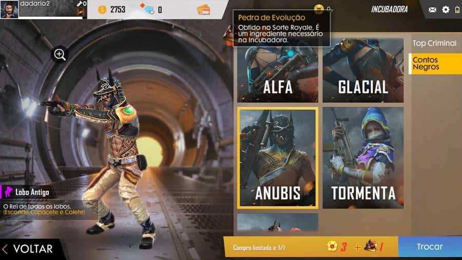 free-fire-skins-nova-incubadora Nova Incubadora do Free Fire traz skins exclusivas