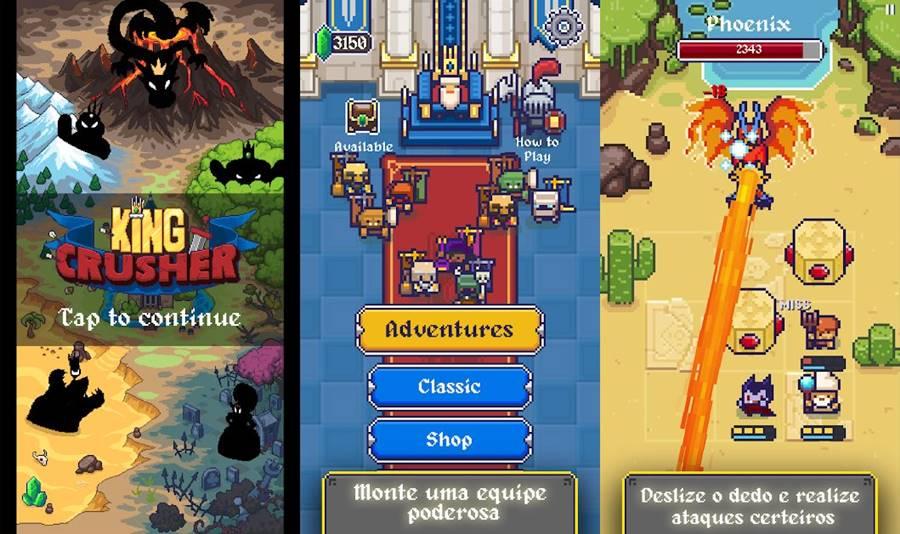 king-crusher-iphone Os 10 Melhores Jogos para iPhone de Janeiro de 2019