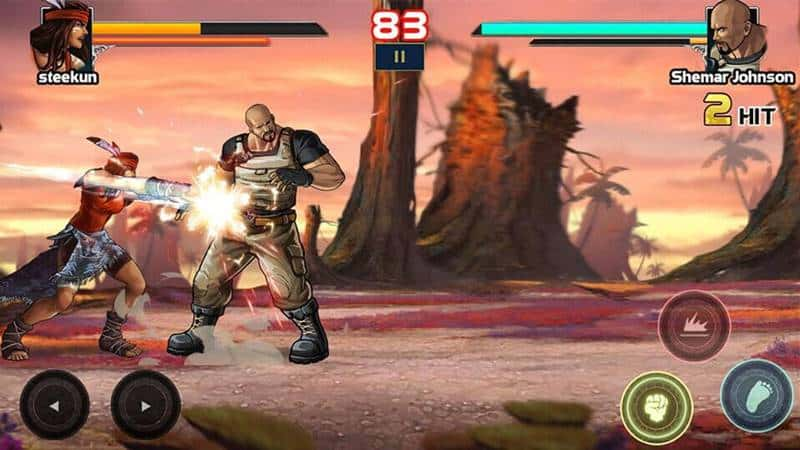"mortal-battle-android Mortal Battle Street Fighter: jogo de luta com o ""The Rock do Paraguai"""