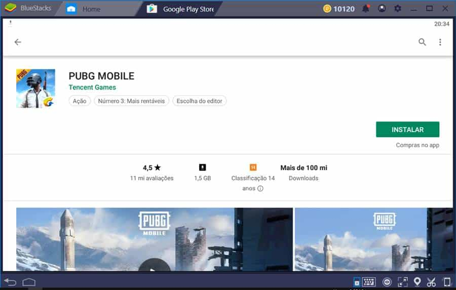 "pubg-mobile-bluestacks-1 Como instalar PUBG Mobile em PC ""Fraco"""