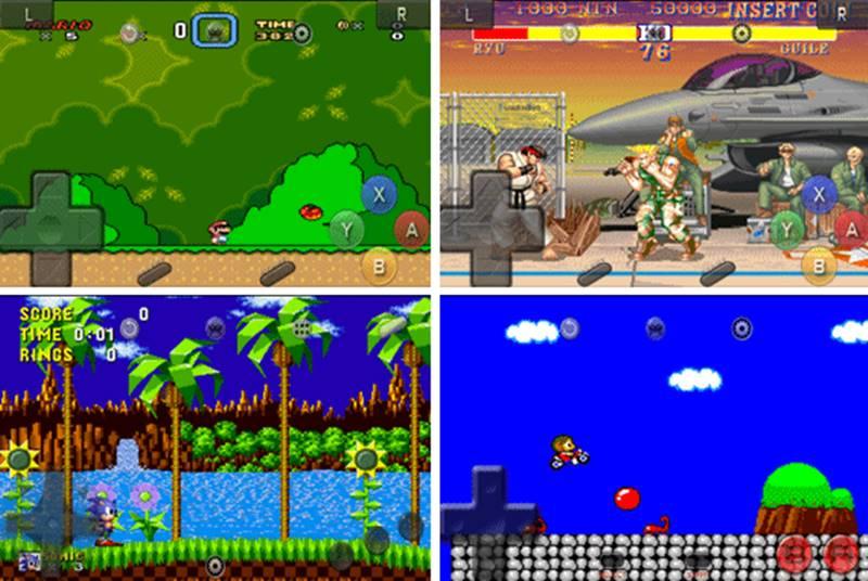 retroarch-jogos-emulador-android-snes-mega TODOS os Emuladores de Videogame que Existem para Android