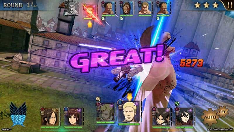 Attack-on-Titan-Assault-OBT-003 Game de Attack on Titan ganha versão em inglês! Baixe o APK !