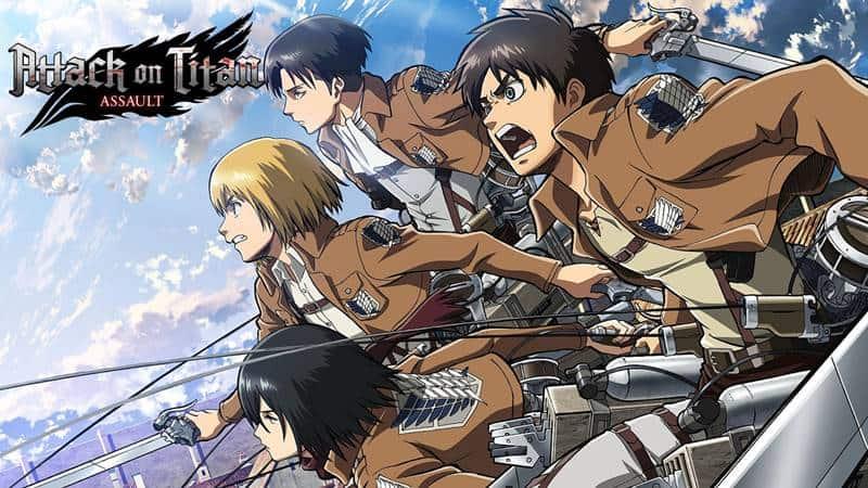 Game de Attack on Titan ganha versão em inglês! Baixe o APK !