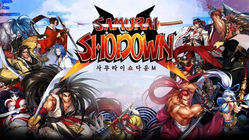 Samurai-Shodown-M-android-iphone Samurai Showdown M: MMORPG para Android (APK)