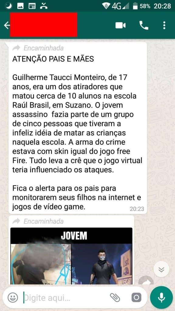 atiradores-suzano-midia-coloca-culpa-free-fire-3-576x1024 Free Fire: Jornais e viral no WhatsApp culpam o game pelo Massacre em Suzano