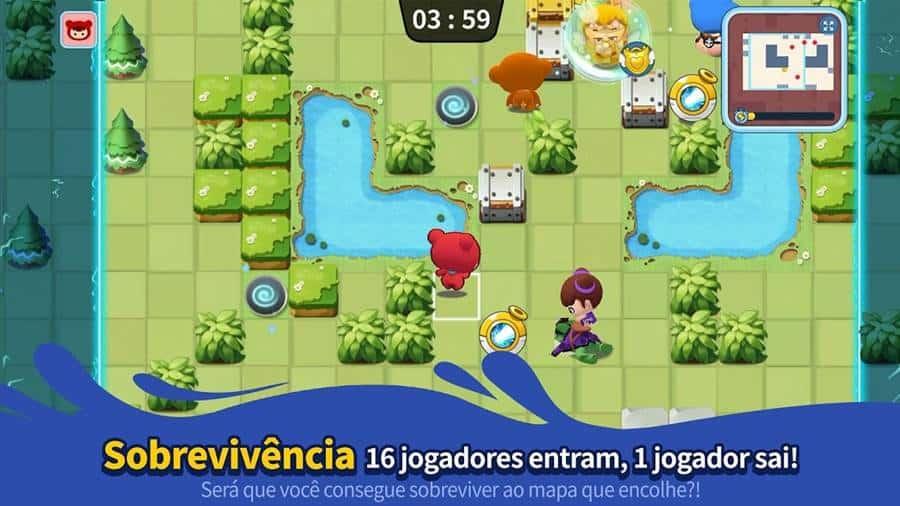 """bnb-m-crazy-arcade-nexon-jogo-android-iphone-2 BnB M: O """"Bomberman"""" da Nexon chega ao Android e iOS"""